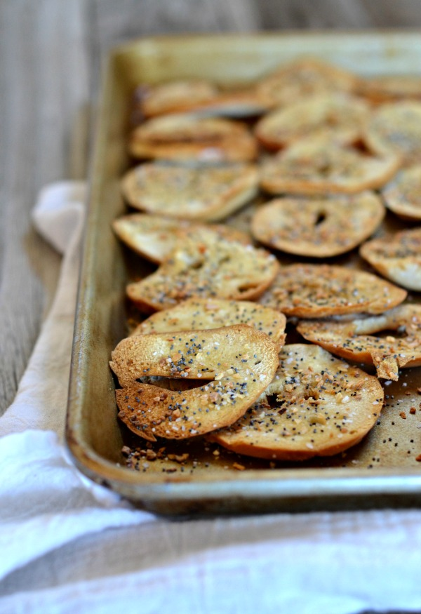 Everything Bagel Chips | mountainmamacooks.com