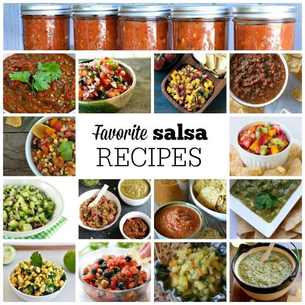 Favorite Salsa Recipe   mountainmamacooks.com #TacoTuesday