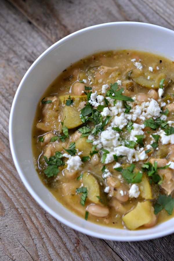 Chicken Tomatillo Stew | mountainmamacooks.com