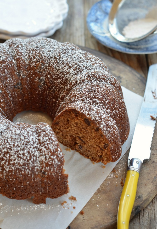 Apple Sauce Spiced Bundt Cake | mountainmamacooks.com