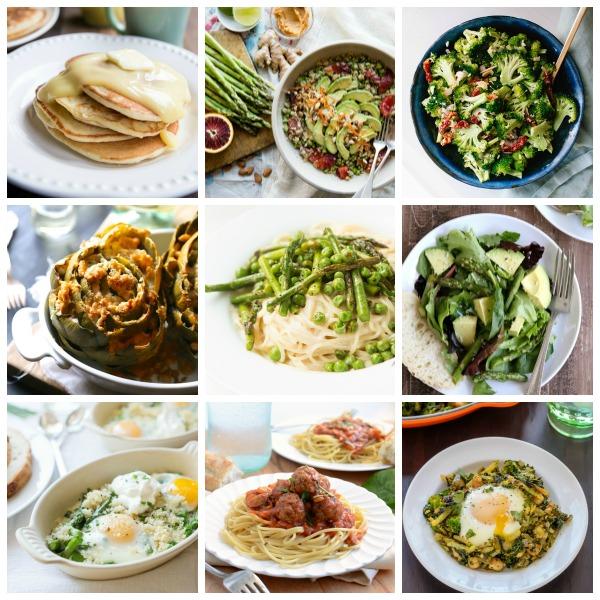 Eat Seasonal March | mountainmamacooks.com