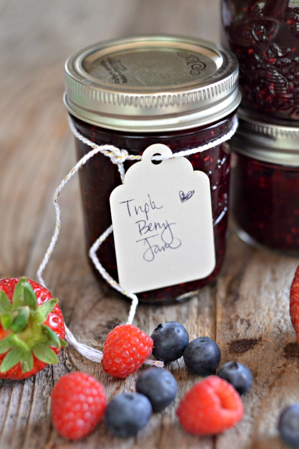 Triple Berry Jam | mountainmamacooks.com