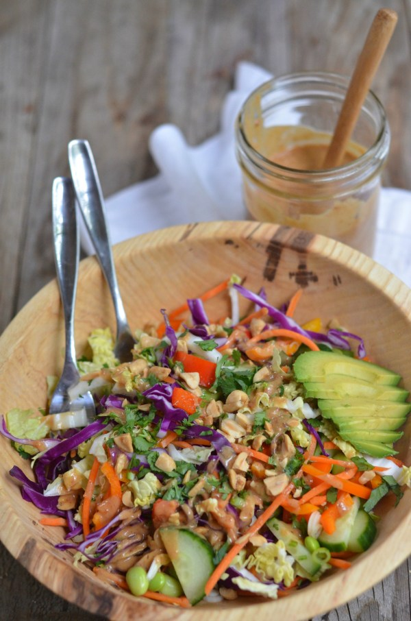 Thai Crunch Salad | mountainmamacooks.com