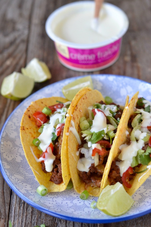 Oven Baked Tacos | mountainmamacooks.com