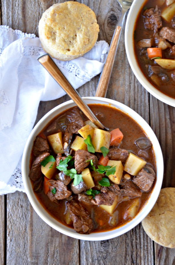 60 minute Beef Stew | mountainmamacooks.com
