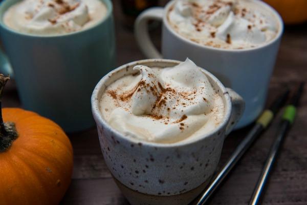 Slow Cooker Pumpkin Spice Latte | www.mountainmamacooks.com