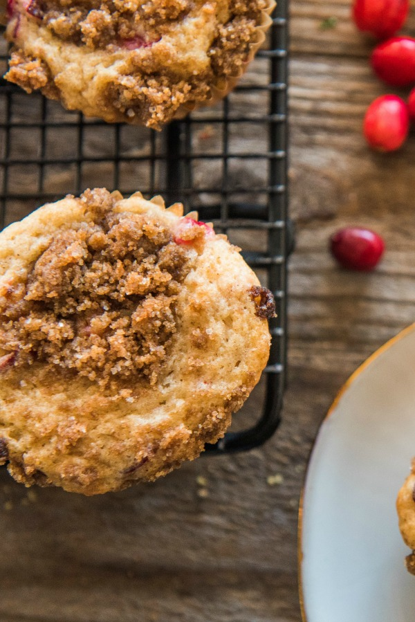 Cranberry Coffee Cake Muffins   www.mountainmamacooks.com