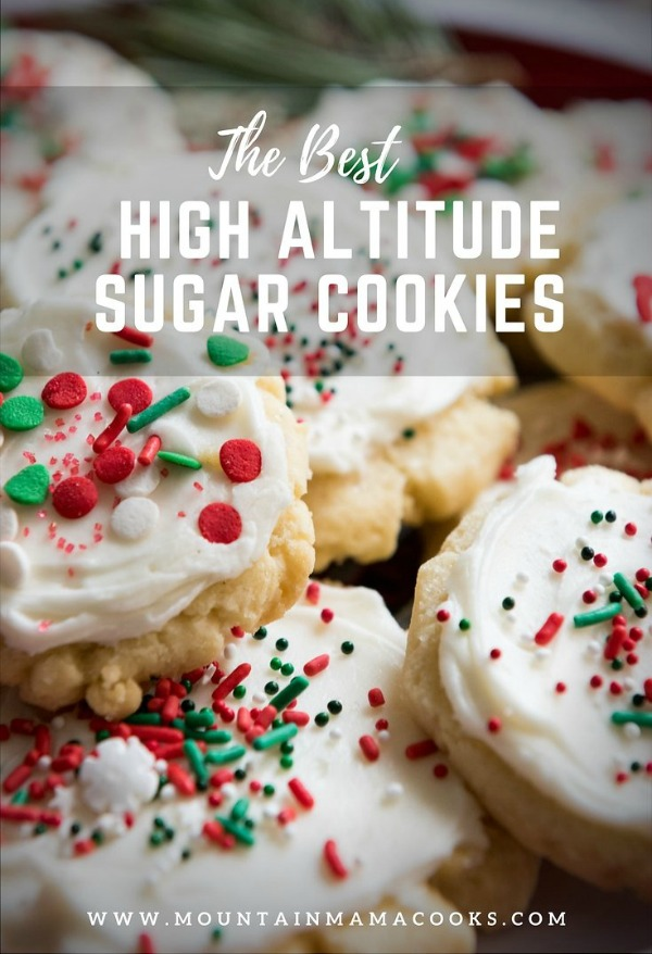 High Altitude Sugar Cookies | www.mountainmamacooks.com