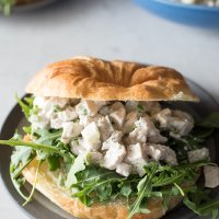 Dill Pickle Chicken Salad Sandwiches | www.mountainmamaacooks.com