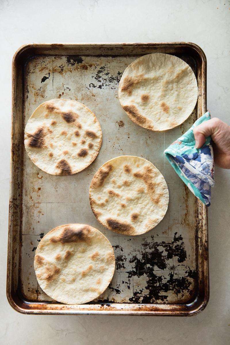 Huevos Rancheros Breakfast Tacos | www.mountainmamacooks.com