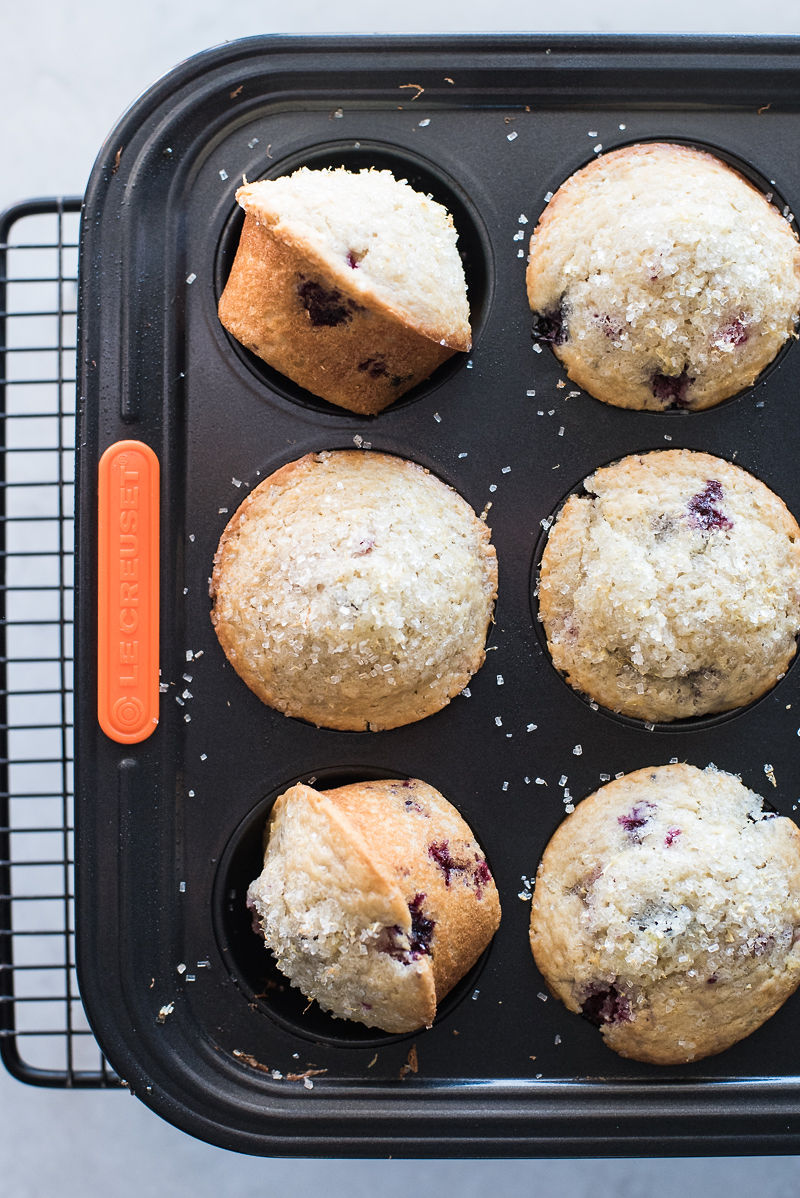 High Altitude Mixed Berry Muffins | www.mountainmamacooks.com