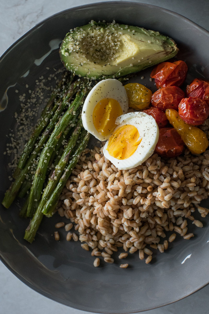 Farro Breakfast Bowl |  www.mountainmamacooks.com