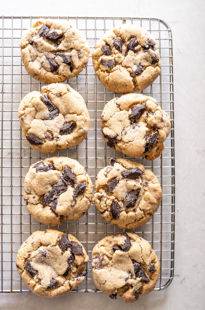 High Altitude Peanut Butter Chocolate Chunk Cookies Mountain Mama Cooks