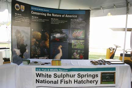 Fish Hatchery in White Sulphur Springs rolls out the red carpet