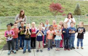 Ms. Kathy's Pre-K class at WSS Elementary School