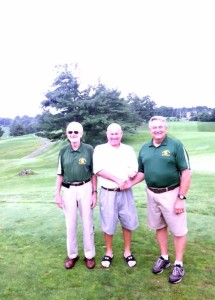 Coach Mac Parks, Jim childers, and Coach Terry Koon