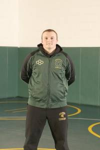 "NAME: Sheldon Simmons GRADE: 12th Grade PARENTS: John and Connie Simmons CITY: Frankford G.P.A.: 3.0 CURRENT RECORD: 20 Wins (8 Pins) FAVORITE QUOTE: ""With Courage you will dare to take risks, have the strength to be compassionate and the wisdom to be humble. Courage is the foundation of Integrity. "" COACH'S COMMENT: ""Sheldon has earned the right to be a Team Captain and he has upheld those responsibilities.His work ethic will help him succeed throughout life."""