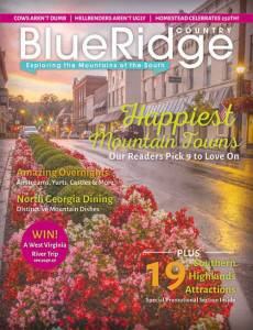 Lewisburg appears on May/June Blue Ridge Country magazine cover