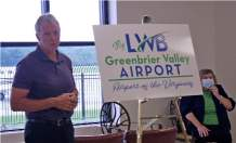 Greenbrier Valley Airport unveils new logo, branding