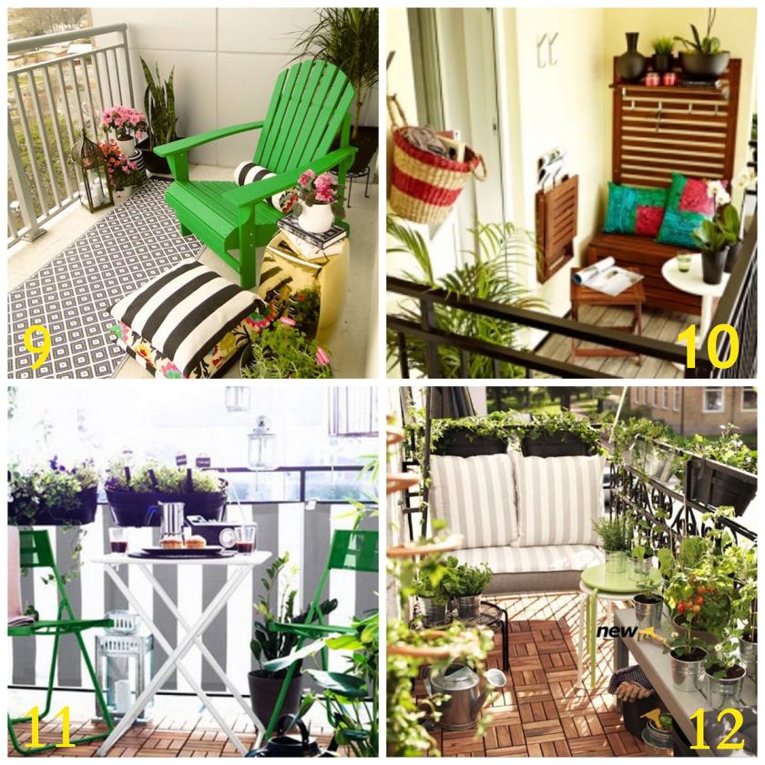 20 Inspiring Balcony Decorating Ideas