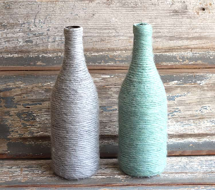 upcycled-yarn-wrapped-bottles-mountainmodernlife.com