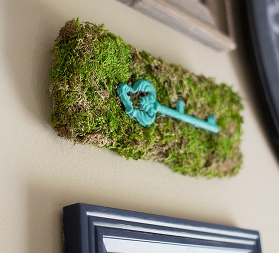 diy moss wall art for gallery wall mountainmodernlife.com