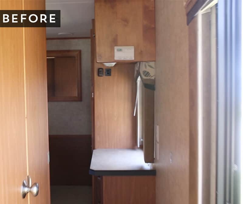 before-photo-rv-tiffin-openroad-hallway-mountainmodernlife.com