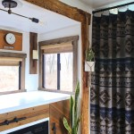 Using Blankets For Rv Curtains Mountain Modern Life