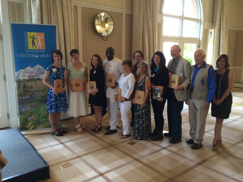 2014 Colorado Book Awards went to writers in 16 categories!