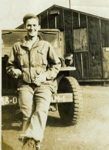 Arthur Kilgore during his time in the? U.S. Army