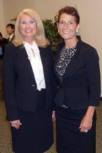 Judge Teresa Chafin and Judge Elizabeth McClanahan