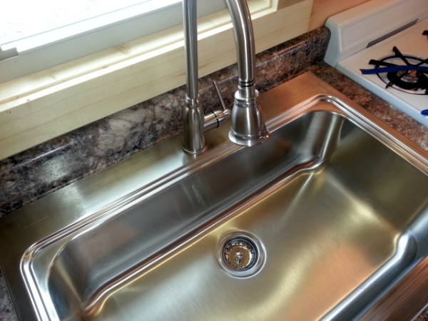 30'' Deep Single Sink