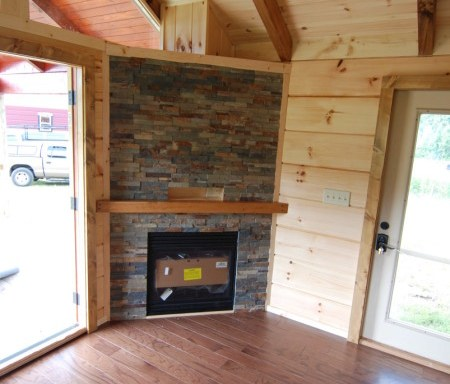 Cultured Rock Fireplace (full)