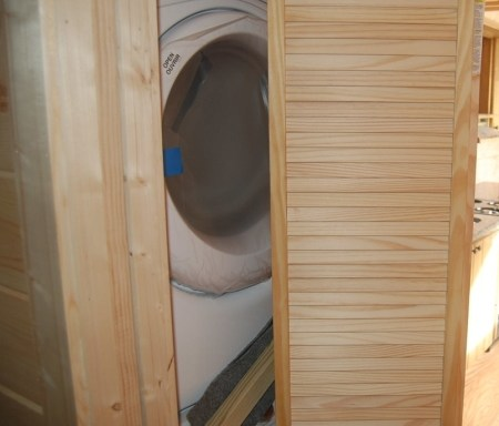 Washer & Dryer Closet