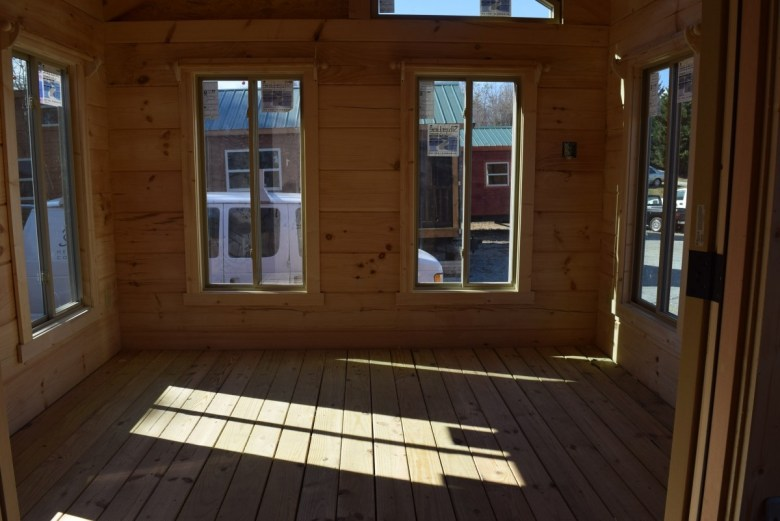 Sunroom on Frame