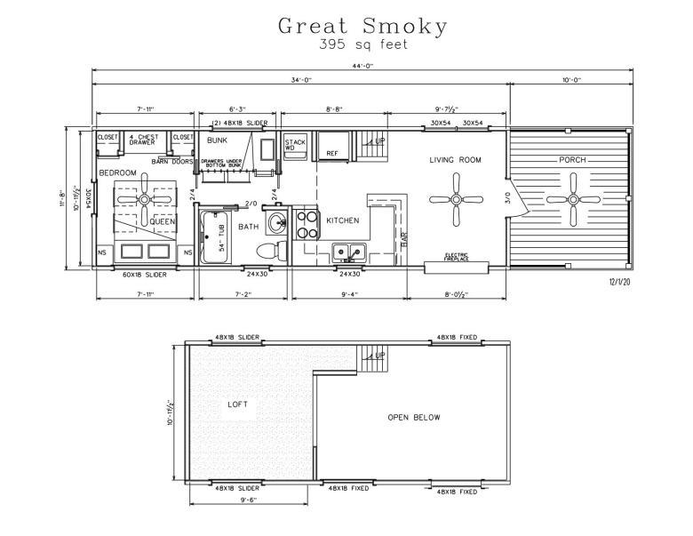 Great Smoky Park Model Log Cabins