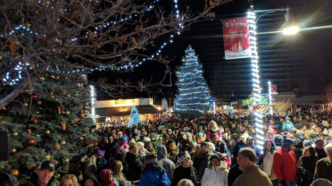 Big Bear Village Christmas.Tis The Season In Big Bear Lake Live Daily News For The