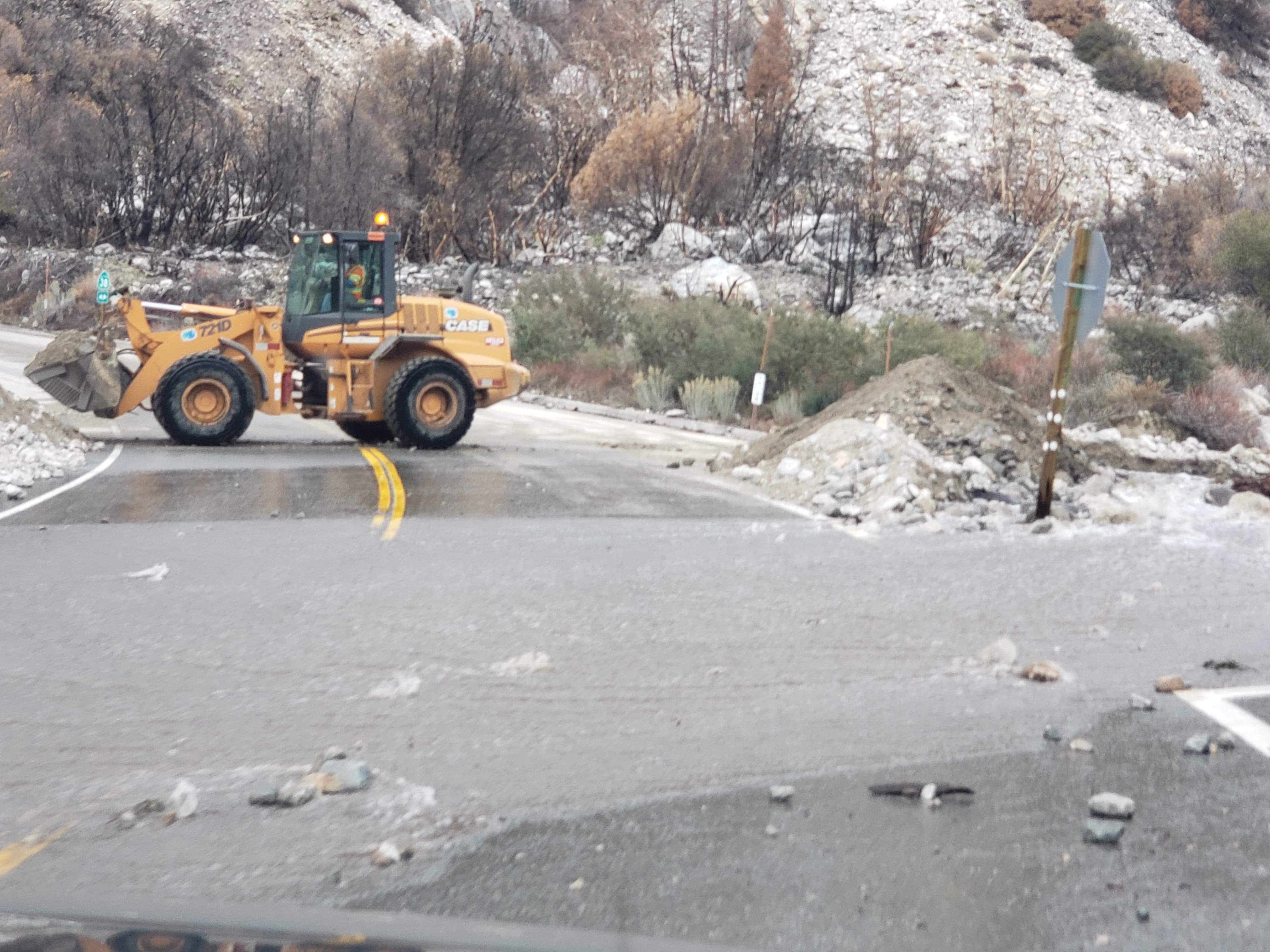 Caltrans Reopens Highway 38 to Residents only, Highway 18
