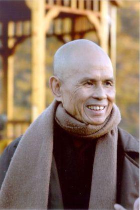 Thich Nhat Hanh in Deer Park 2004