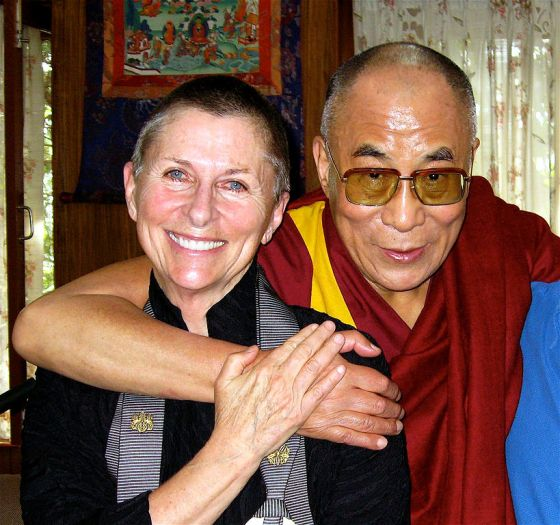 Joan Halifax and the Dalai Lama