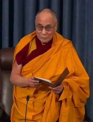 Dalai Lama Led The Opening Prayer For The Senate