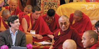 Dr. Richie Davidson with The Dalai Lama