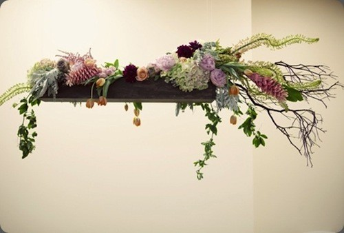 hanging boxed florals