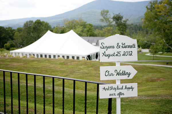 Vermont garden wedding