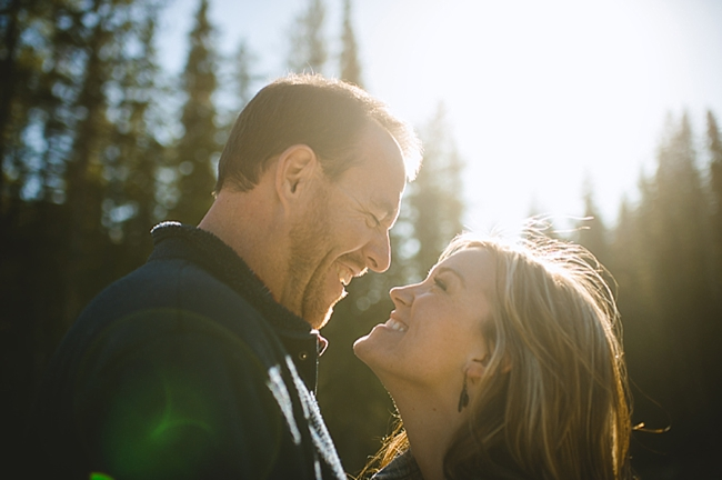 British columbia mountain engagement shoot by Nordica Photography