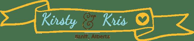 Kirsty and Kris in Banff Alberta