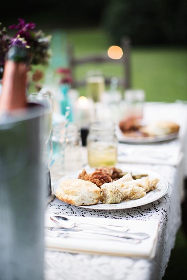 country style food rustic chic wedding via http://mountainsidebride.com