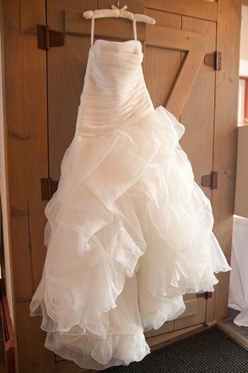 Fluffy wedding dress   Colorado Wedding