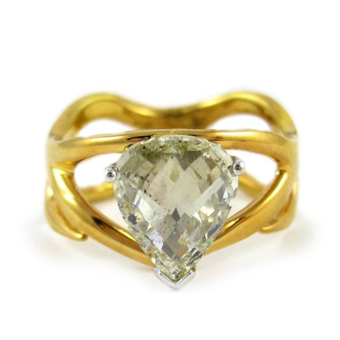 5 Fresh Nature Inspired Wedding Rings