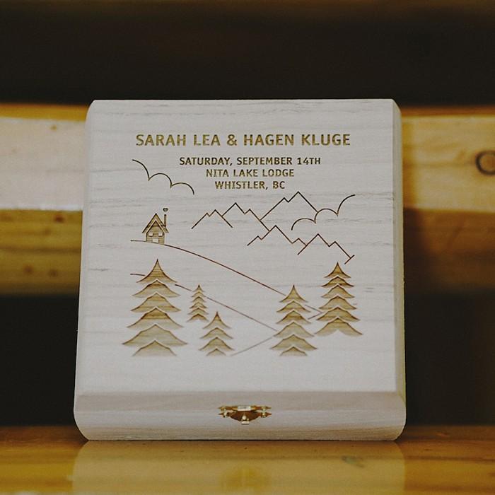 Heartfelt Whistler Wedding with stunning mountain views